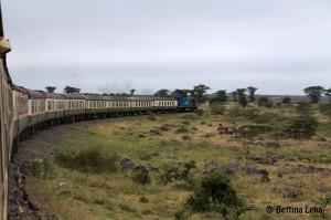 Mombasa - Nairobi train