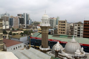 View from Jamia mosque