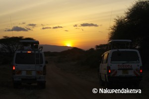 Watching the sunset with Nakupendakenya